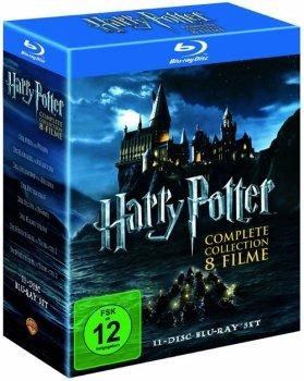 [Blu-ray] Harry Potter Boxen @ Alphamovies
