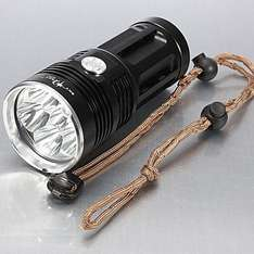 Skyray King 6x XM-L Cree LED Taschenlampenmonster [CN, Miniinthebox]
