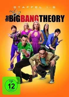 (Real.de) (DVD) The Big Bang Theory - Staffel 1 - 5