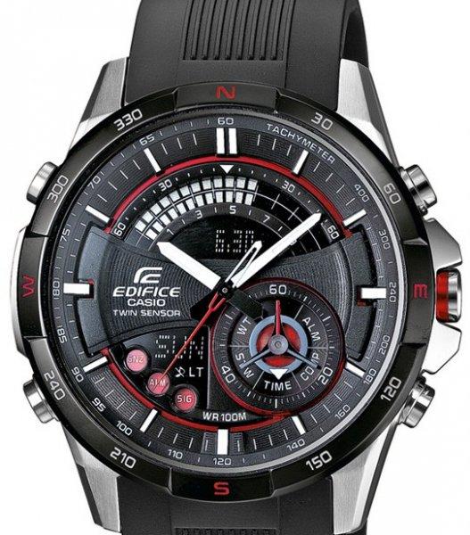 [Uhr .de] Casio Edifice ERA-200B-1AVER Herren Edelstahlchronograph mit Digitalkompass und Thermometer für 144€ incl.Versand!
