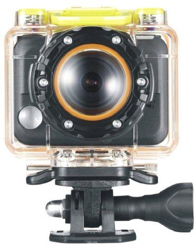 [ Update - 5€ günstiger durch Code] Praktica SC 1 Aktionkamera mit 170° Weitwinkelobjektiv (5 Megapixel, 256MB interner Speicher, wasserdichtes Gehäuse bis 60m, WLAN, HDMI) schwarz für 74,99€ frei Haus @DC