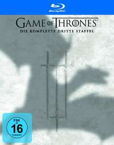 [Amazon.de] Game of Thrones Staffel 3 Blu-Ray 27,97 € (ohne Prime)