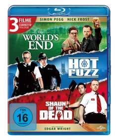 Amazon: Cornetto Trilogy (Blu-Ray) The World's End + Hot Fuzz + Shaun of the Dead