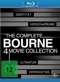 Amazon: Complete Bourne Collection (Blu-Ray) - alle vier Filme