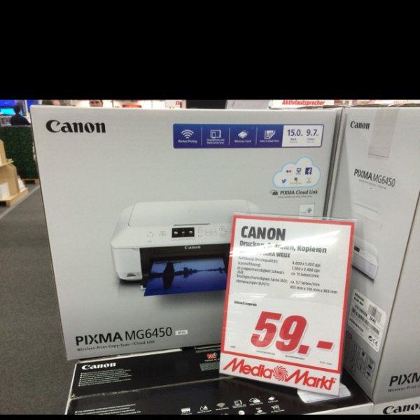 Canon MG6450 Media Markt Köln Kalk