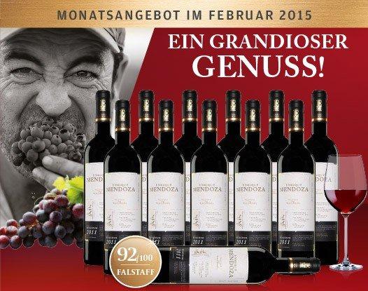 Spitzenwein! 12er Karton Enrique Mendoza Reserva 2011 für nur 89,90 Euro inkl. Versand (anstatt 180€)