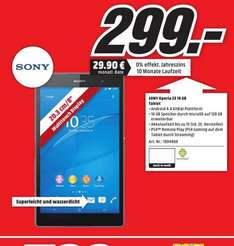 [LOKAL ESSEN] Sony Xperia Z3 Tablet Compact 16GB WiFi @ Mediamarkt