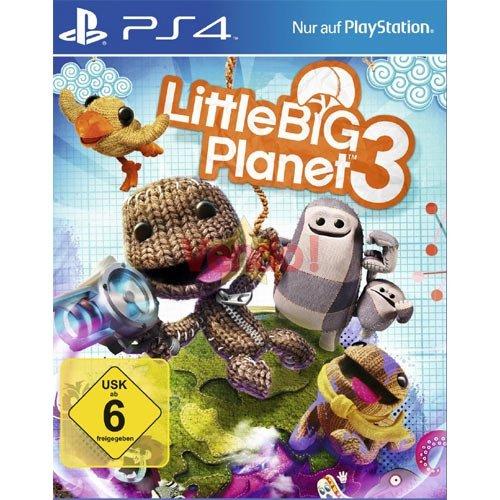 Little Big Planet 3  für die PS4 für  27,99 Euro (+ 2,99 Euro Versand) Gesamt 30,98 Euro bei Vendo.de
