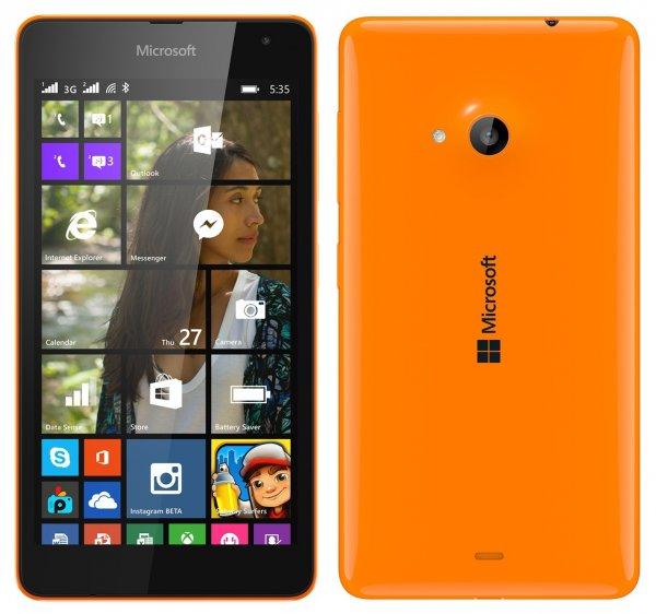 [MyLemon.at - nur Österreich] Lumia 535 in orange für 88,89€