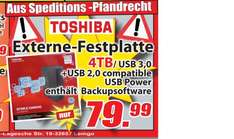Magowsky - Toshiba externe Festplatte STOR.E Canvio 3,5 Zoll 4TB USB 3.0