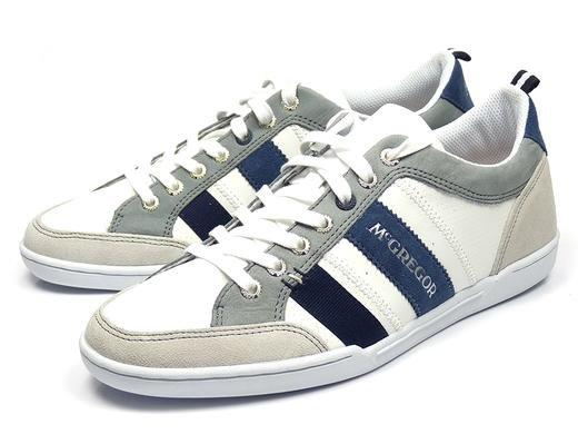 McGregor Herren-Sneaker (Größen 40 - 46) in weiß für 49,95€ zzgl. 5,95€ Versand @iBOOD