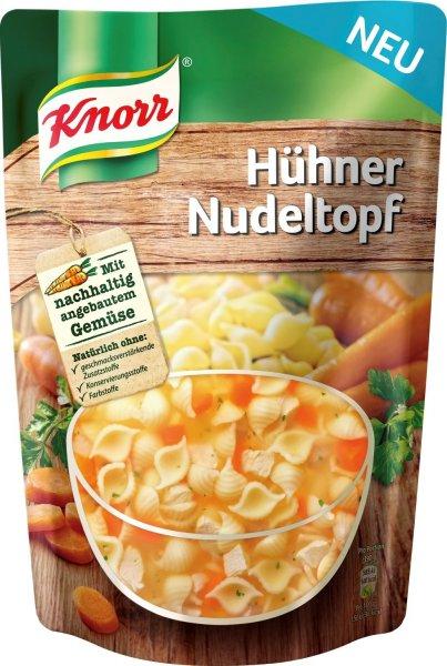 1000x Knorr Hühner Nudeltopf/Gulaschtopf, 6er Pack (6 x 390 g) kostenlos @ Amazon Prime - Schnell sein!