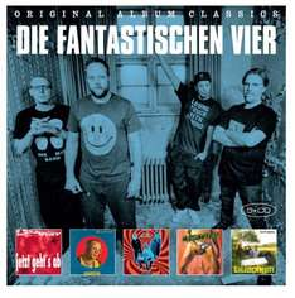 Die Fantastischen 4 - 5 Original Album CD-Box für 9,99 € @Saturn Online (und weitere Boxen)