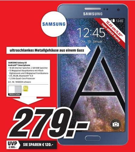 [Lokal Heilbronn] MM Europaplatz - Samsung Galaxy A5 - 279,- Euro