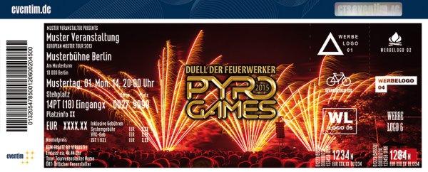 Pyro Games: Duell der Feuerwerker [bundesweit]