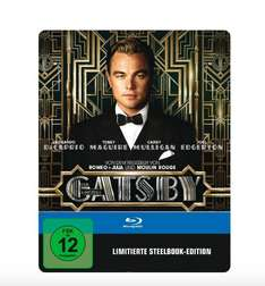Der Große Gatsby - Steelbook (Blu-ray) für 8,99€ @Saturn