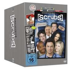 [Amazon] Scrubs komplette Serie 31 DVDs für 41,99 Euro