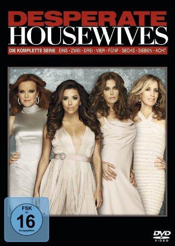 [Amazon] Desperate Housewives komplett auf 49 DVDs für 49,99 Euro // 44,99 Euro Saturn Online