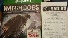 Watch Dogs Special Edition (Xbox One) @ Saturn Mülheim