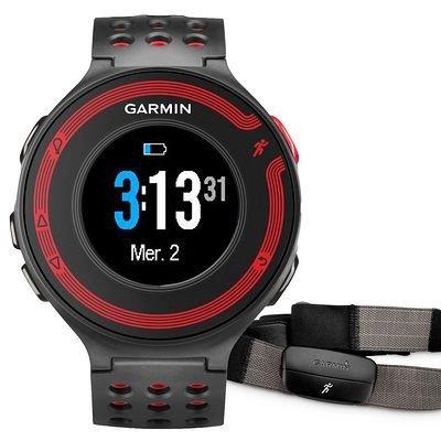 Garmin Forerunner 220 Activity Tracker HRM + Gurt schwarz-rot für 209,90 @decathlon.de