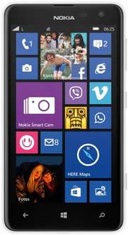 "Nokia™ - Smartphone ""Lumia 625 Weiß"" (4.7"" 800x480,512MB/8GB+microSDXC,5.0MP AF/LED Cam,LTE,Windows Phone 8.1) für €99.- [@Media-Markt.de]"