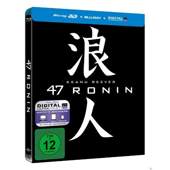 47 Ronin - 3D-Blu-ray Steelbook (inkl. Digital Ultraviolet) ab 12,99 € @MediaMarkt.de