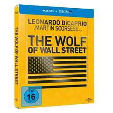 The Wolf of Wall Street - Blu-ray Steelbook (inkl. Digital Ultraviolet) ab 12,99 € @media-dealer.de / MediaMarkt.de