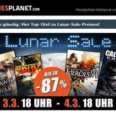 [Steam/Origin/uplay] Gamesplanet Lunar Sale - z.B. Need for Speed: The Run, Might & Magic Heroes VI, Call of Duty: Ghosts Gold ab 3,99€