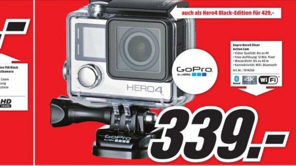 (Lokal Mediamarkt Köln Arcaden) Gopro Hero 4 Silver/Black