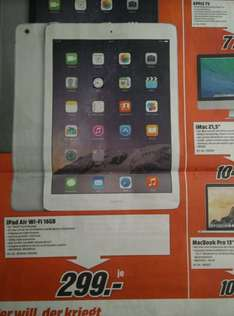 Ipad Air Wi-Fi 16 GB [Media Markt]