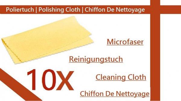 10x Microfaser Reinigungstuch   @Ebay.de