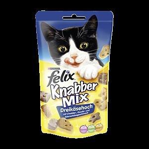 Rewe (regional bitte jeweils prüfen) : Felix Knabber Mix = 0,99 - 0,50 € Coupon