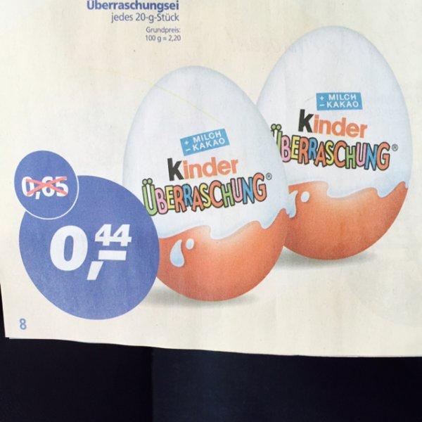 [Hamm Westfalen] Ü-Eier 0,44€ Real