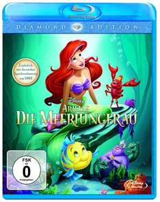 Saturn.de Arielle, die Meerjungfrau Diamond Edition Blu-ray 9.99