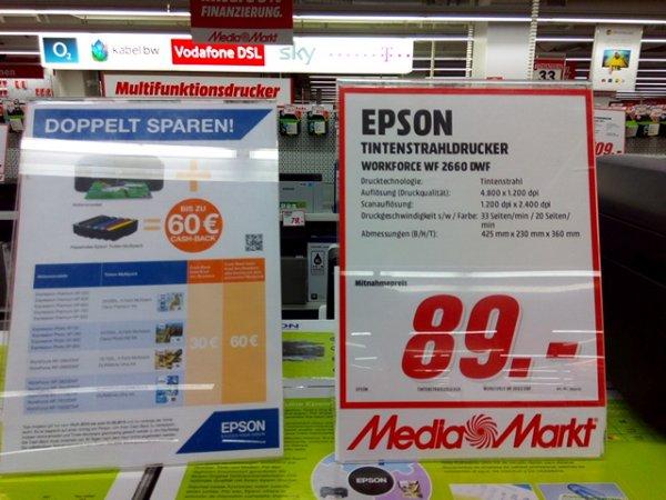 lokal Media Markt Nürtingen Epson wf 2660 dwf