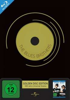 The Blues Brothers - Limitierte Golden Disc Edition (Blu-ray) für 7,98€ @Media Dealer