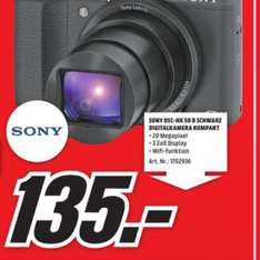 Sony DSC-HX50 SuperZoom [MM Cottbus] 135,00€ - 28,6% Ersparnis