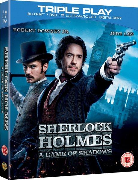 Blu-ray - Sherlock Holmes: A Game of Shadows (2 Discs/Blu-ray&DVD) für €3,89 [@Wowhd.dk]