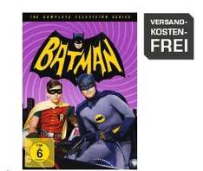 Batman - Die komplette Serie (18 DVDs) für 25€ @Saturn.de