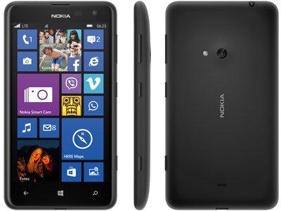 [MeinPaket] Lumia 625 in schwarz Windows Phone LTE (Demoware) für 86,30€