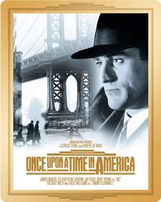 Amazon.co.uk Once Upon a Time in America Blu Ray Limited Edition Steelbook 30.30€
