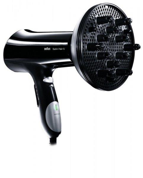 [Blitzangebot] Braun HD 530 DF Satin Hair 5 Haartrockner mit Diffusor-Aufsatz (2000 Watt) für 33€ frei Haus @Völkner