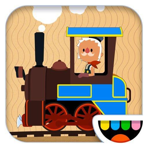 [iOS] Toca Train statt 2,99€  (Zugsimulator für Kinder)