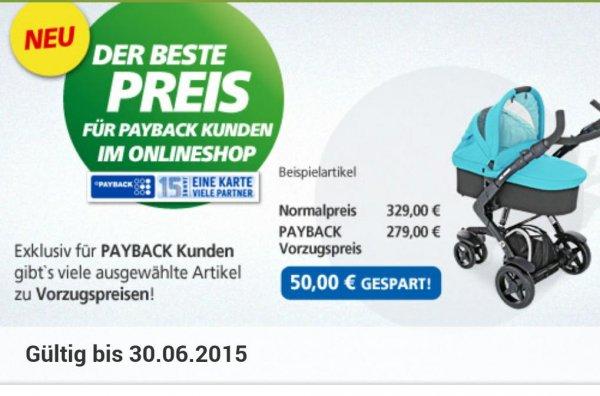 ABC Design Sportwagen 3 Tec für 228,15€ (NUR HEUTE MÖGLICH) im Real Onlineshop