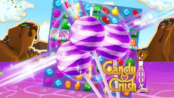 [GooglePlay] Für alle CandyCrushSodaSaga Spieler.....3 Gestreifte Lutscherhammer Gratis
