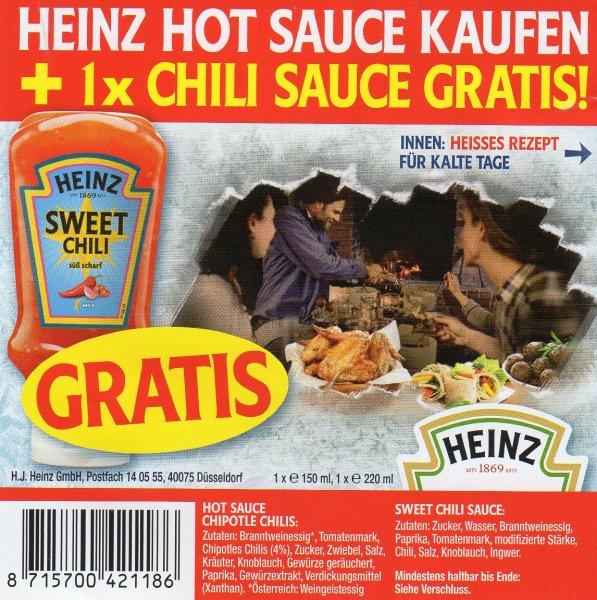 Heinz Chili Sauce Gratis