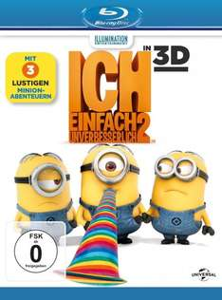 Ich - Einfach unverbesserlich 2 [ + Blu-Ray 2D] [Blu-ray 3D]@amazon.de(PRIME)