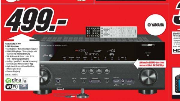 (LOKAL Media Markt Köln Arcaden) Yamaha RX-V 777 für 499€