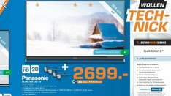 [lokal saturn Düsseldorf] Panasonic TX-65AXW804 für 2699€ (Idealo 3059€)