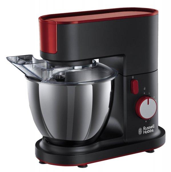 [3% Qipu] Russell Hobbs Desire 20350-56 Küchenmaschine mit planetarischem Rührsystem schwarz/rot für 94€ frei Haus @DC